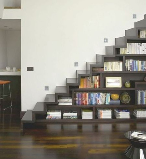 Stairs - bookcase