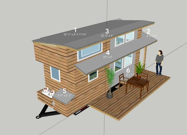 Plan a house on wheels