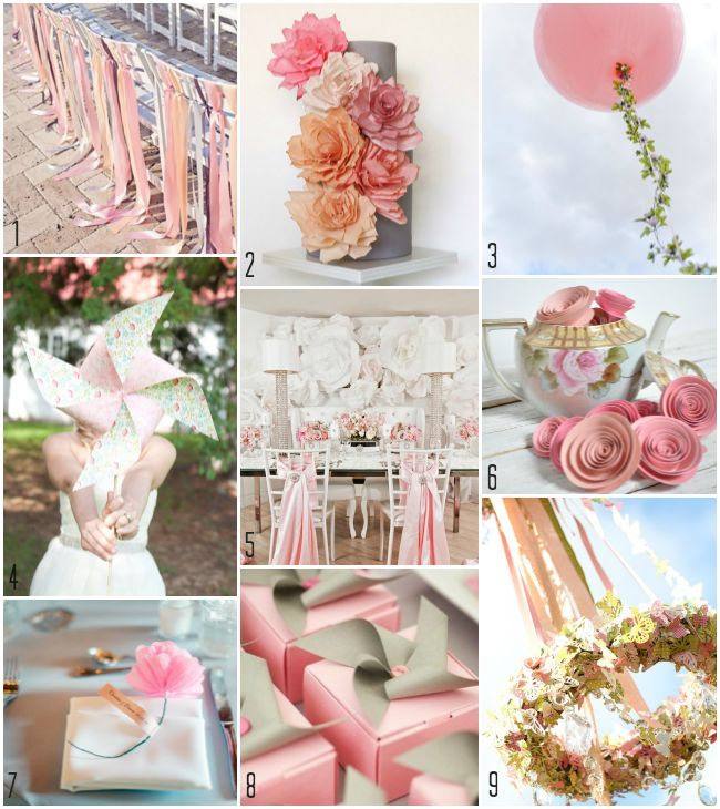 TOP PHOTOS. How beautiful to decorate a wedding with your own hands.