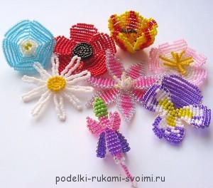 flowers made of beads (7)