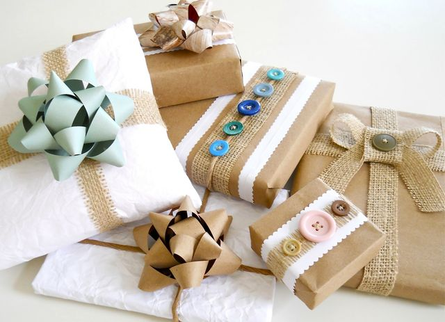 decorating gifts with your own hands
