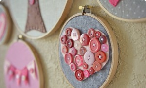 Valentines with their own hands. Crafts for Valentine's Day.