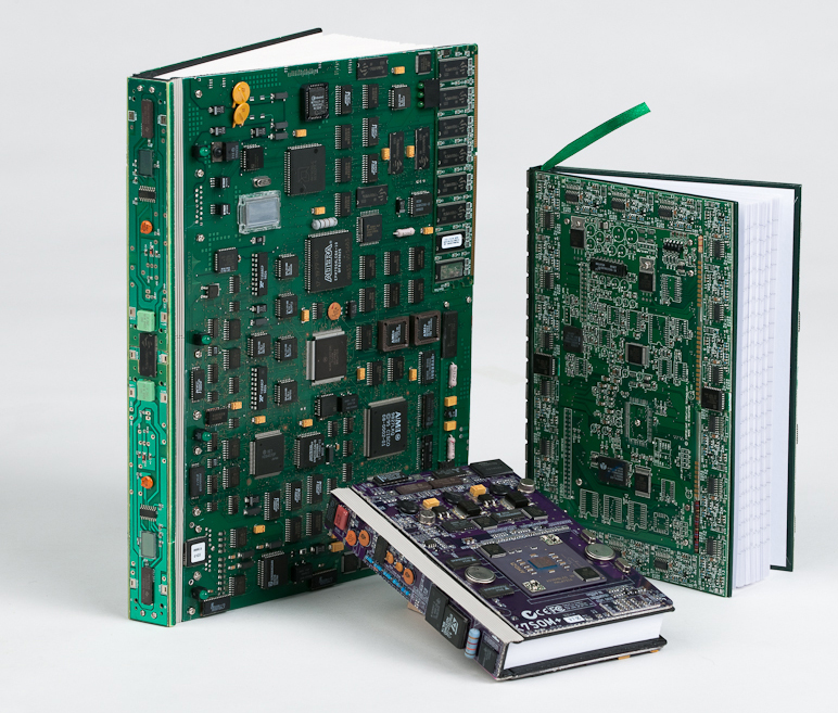 Original souvenirs from electronic boards