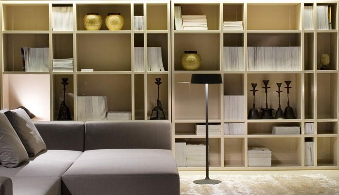 Equilibrium in the design of shelving and shelves