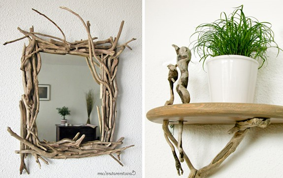 What can be made from twigs with children