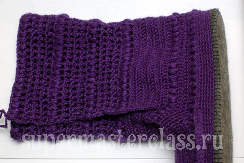 Crochet boots with a description and schemes