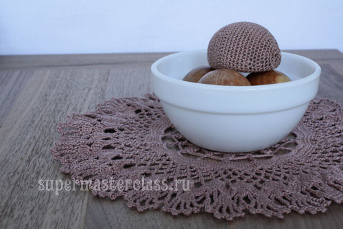 Crochet napkins for beginners