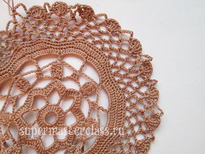 Crochet: a description of the pattern of napkins