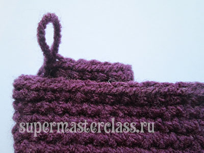 Master class on crocheted pencil case