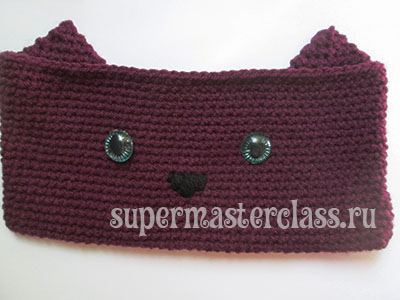 Registration of crocheted pencil case