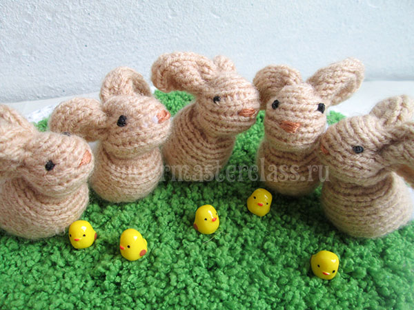 How to knit a hare with needles