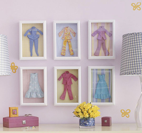 Doll clothes, house decorating ideas for yourself