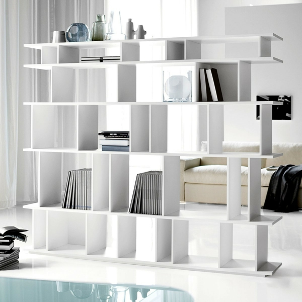 Properly designed shelving