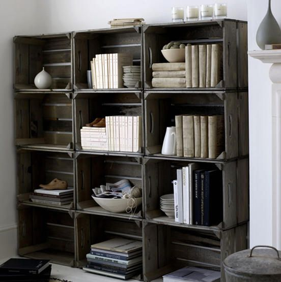 shelving from drawers