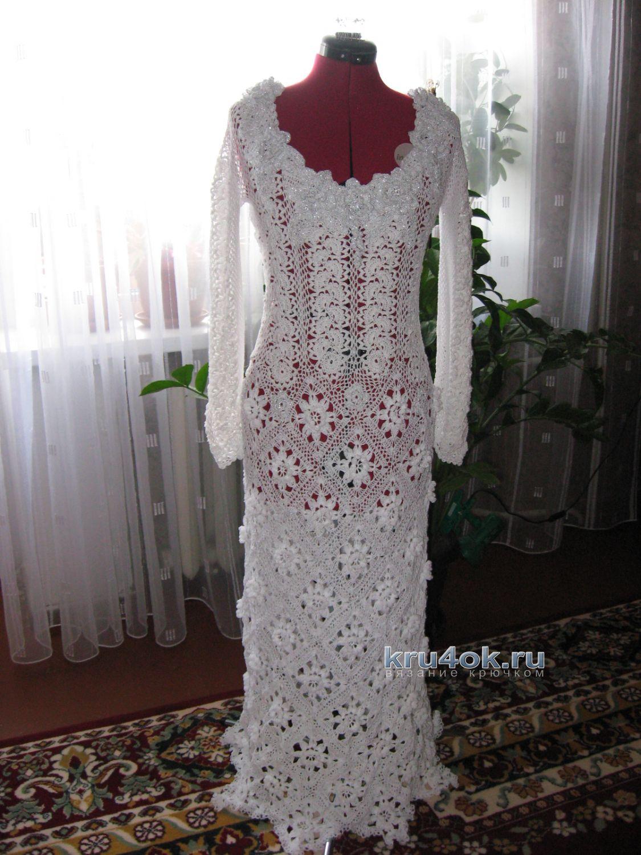 Vestiti Da Sposa Uncinetto.Abito Da Sposa All Uncinetto Opera Di Valentina