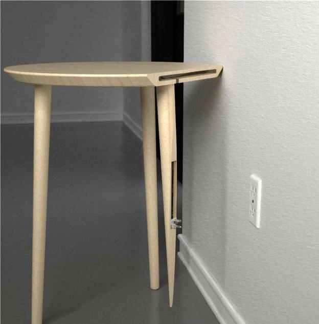 soak table - wireless charging station for mobile