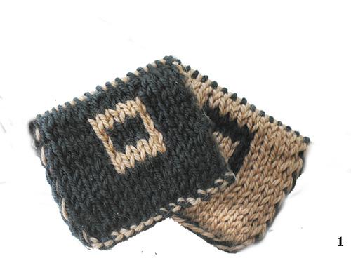 Схемы и особенности вязания жаккардовых узоров