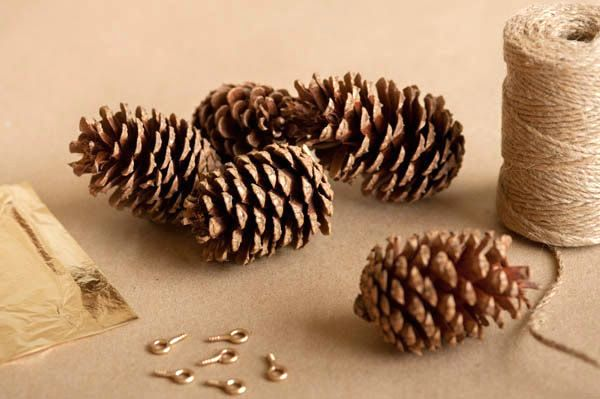 gold garland of cones master class