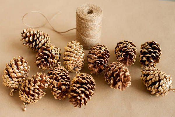 gold garland of cones master class 07